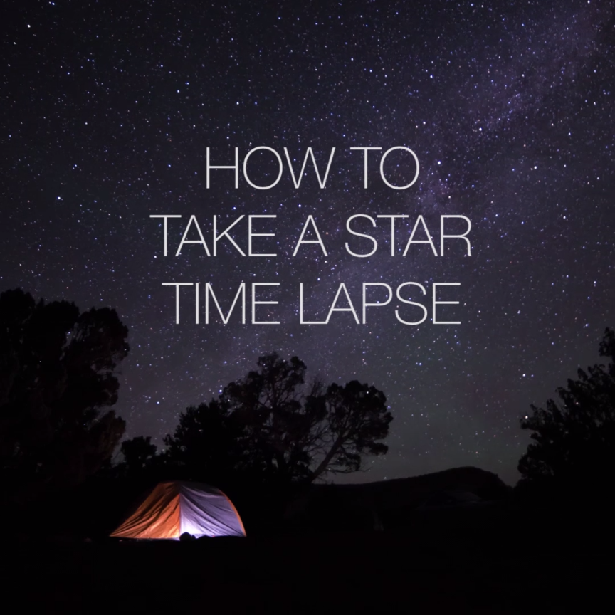 How To Take A Star Time Lapse // #nifty #photography