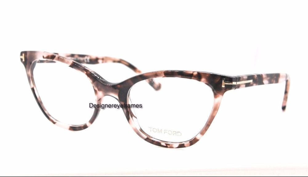 8999ed368a TOM FORD TF TF 5271 074 Pink Havana Cat-eye 49mm RX Eyeglasses NWT AUTH FT  5271  TOMFORD