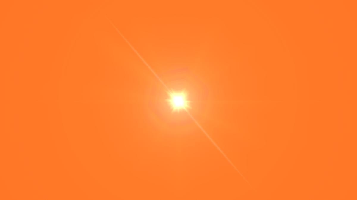 Front Yellow Lens Flare Png Image Lens Flare Orange Lens