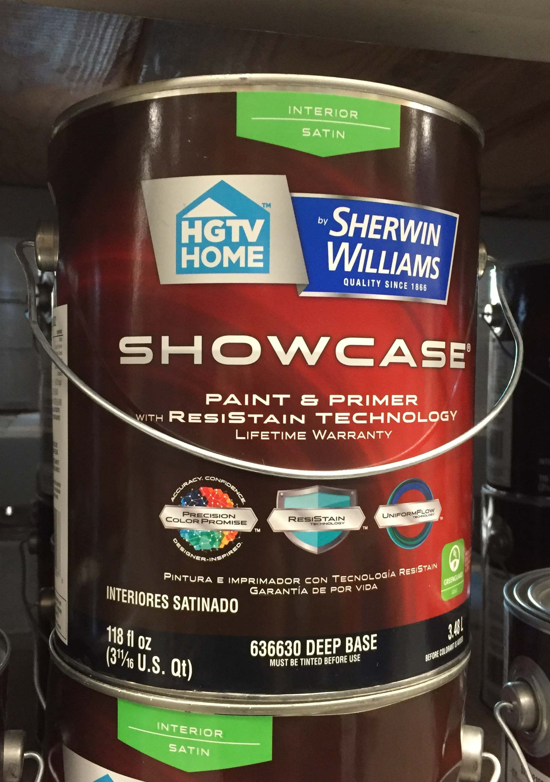 On Our Shopping Trip, We Asked A Loweu0027s Paint Specialist For His  Recommendation On A Kid Proof Wall Paint And This Is What He Showed Us.