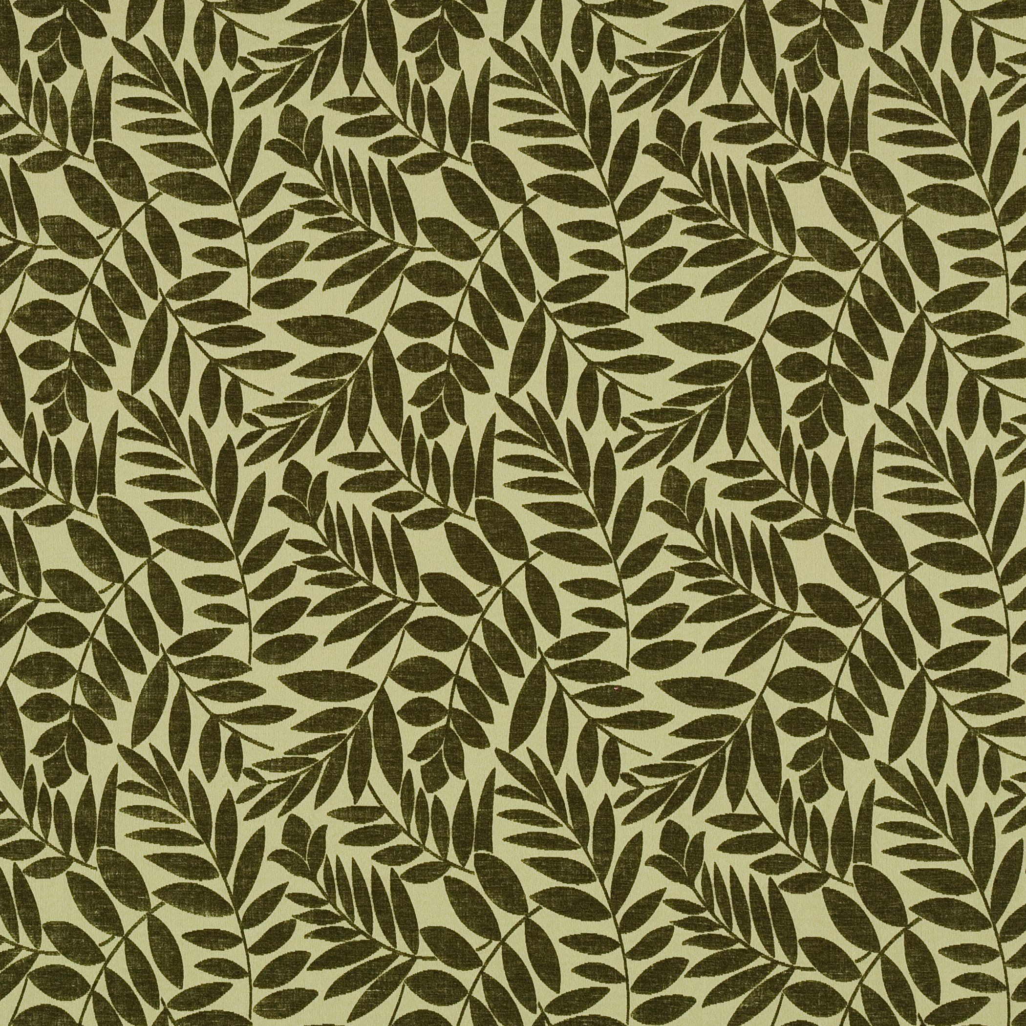 Arbor Crable Green Teal Hunter Forest Leaves Fl Upholstery Fabric