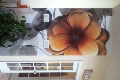 Great Customer Examples - Page 3   Murals Your Way I am drawn to this picure not sure bedroom or sun room
