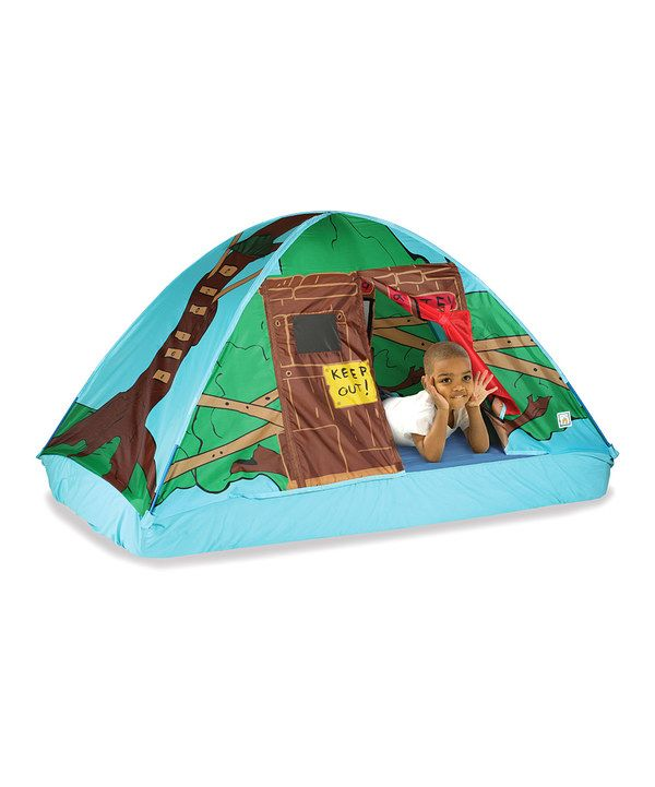 Look at this Tree House Twin Bed Tent on #zulily today!  sc 1 st  Pinterest & Look at this Tree House Twin Bed Tent on #zulily today! | toys ...