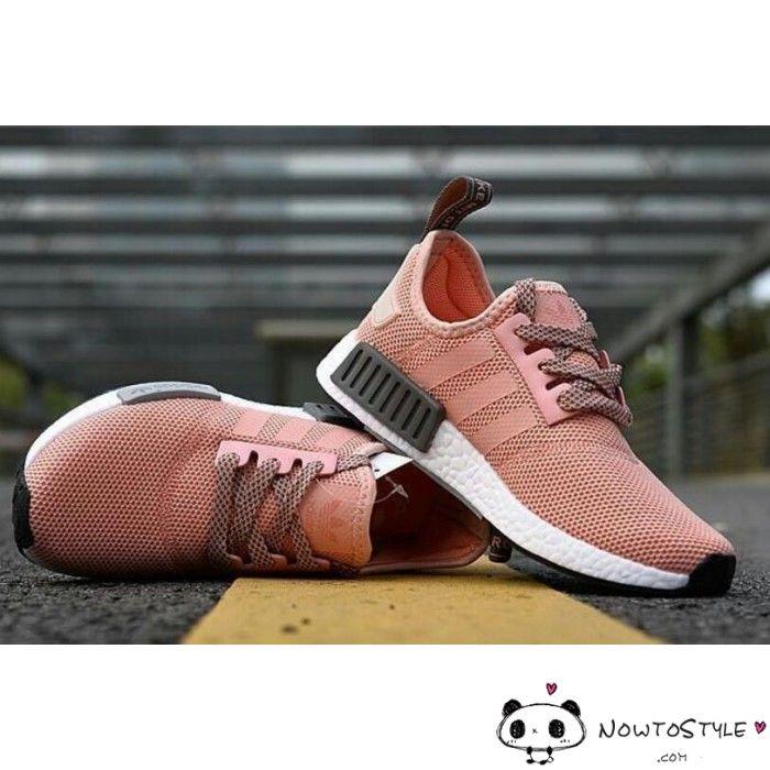 donne adidas nmd salmone peach gray r1 runner corallo rosa vappn raw