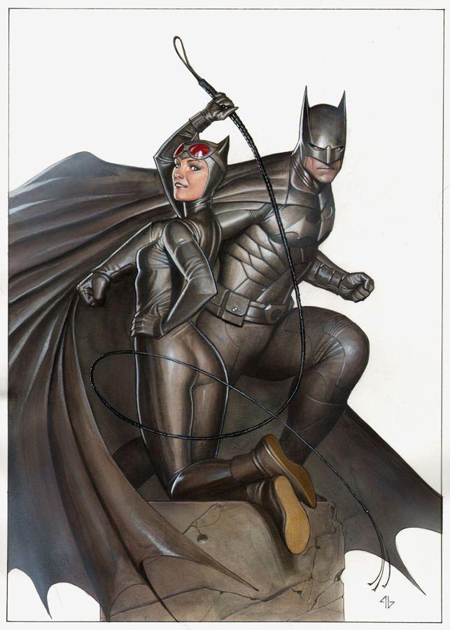 Catwoman & Batman by Adi Granov