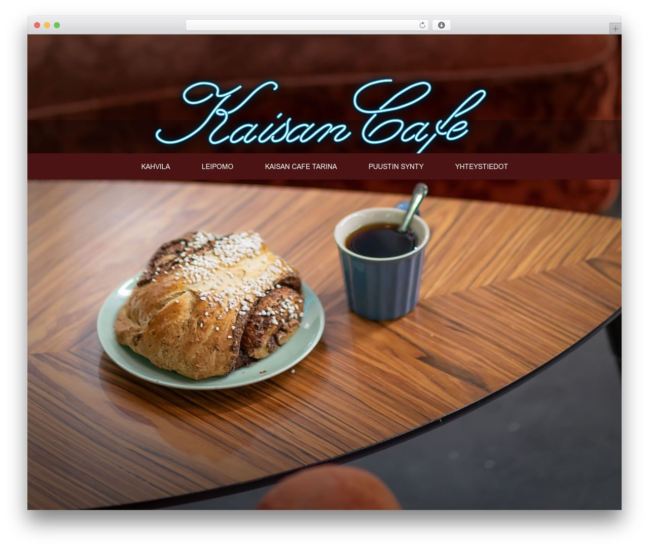 Divi premium WordPress theme by Elegant Themes - kaisancafe.com