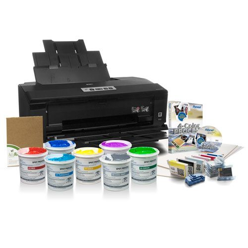epson surecolor p400 film output printer (13in wide) package with ...