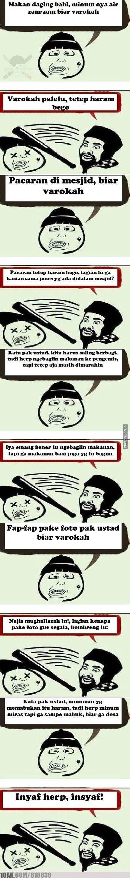 ustad cage dan herp Meme, Lucu, Indonesia