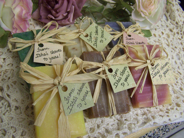 25 Bridal Shower Favors Soaps Mini Soaps Shea Butter Organic