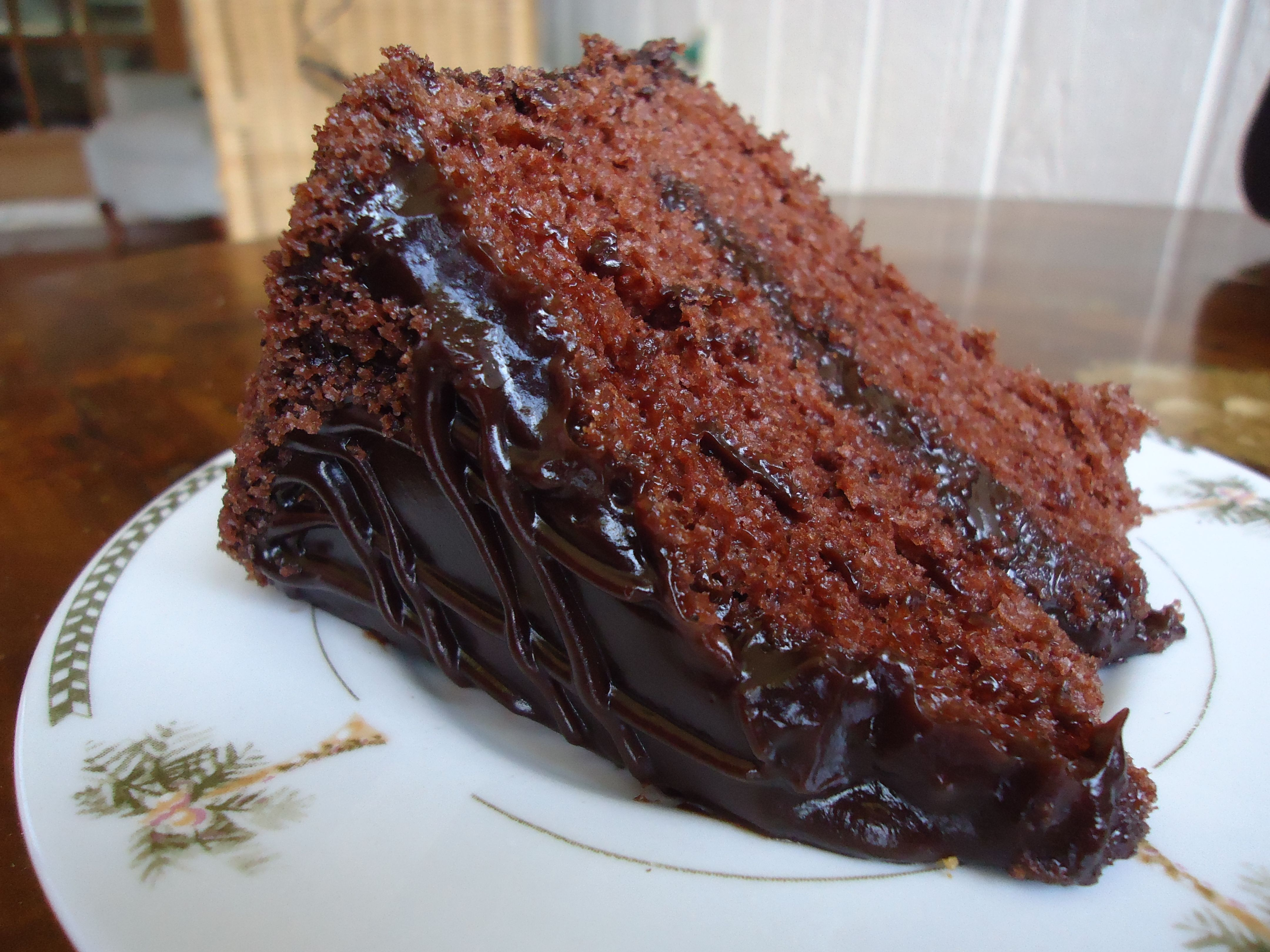Chocolate dobash cake from napoleons bakery in hawaii i