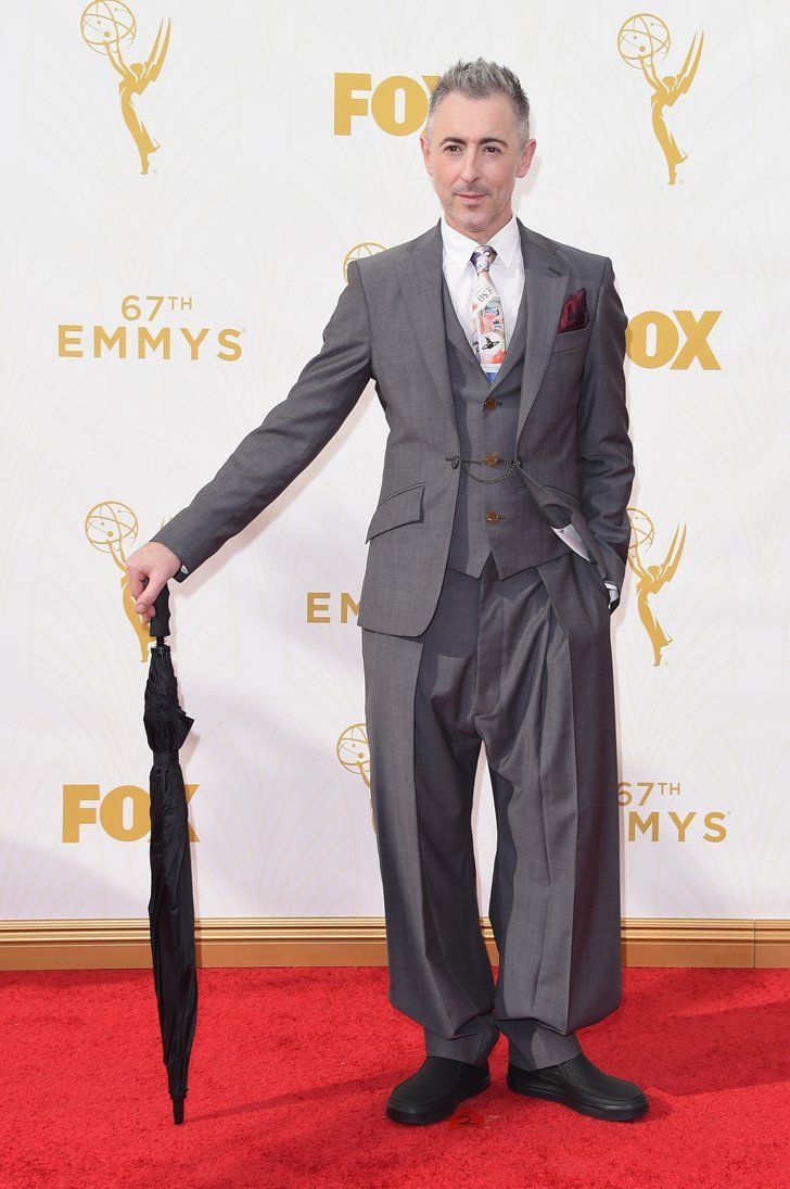 Pin for Later: See Every Star on This Year's Emmys Red Carpet! Alan Cumming