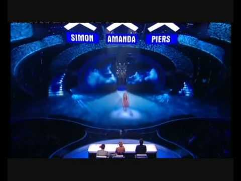 CHLOE HICKINBOTTOM (10) SHINES OUT ON BRITAIN'S GOT TALENT SEMI FINAL SI...