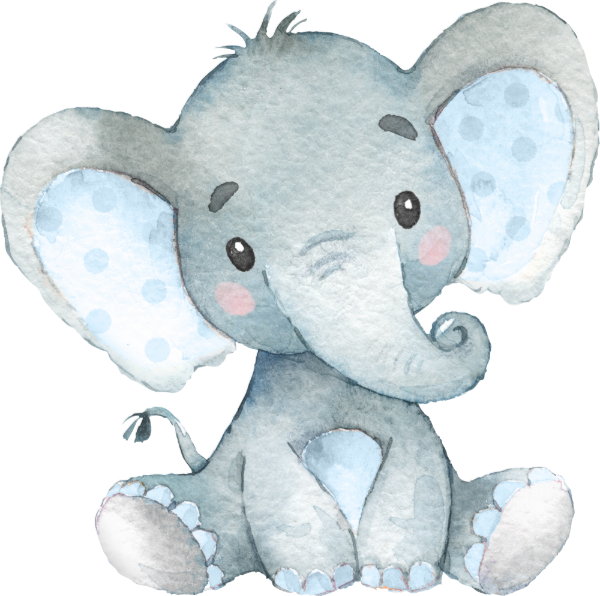 Watercolor Baby Elephant Png : Grey baby elephant poster, african elephant indian elephant illustrator illustration, watercolor elephant, watercolor painting, watercolor leaves, mammal png.