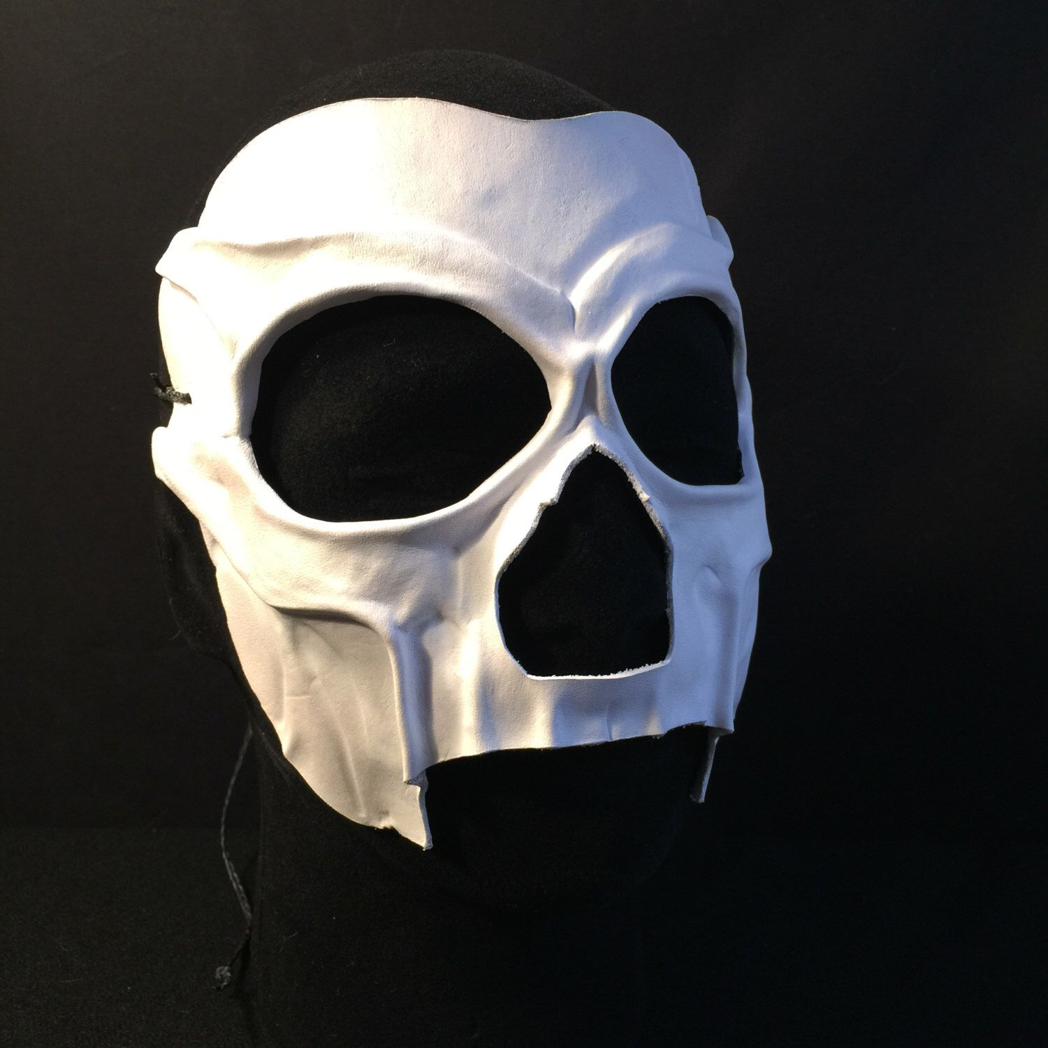 Death Mask Day of the Dead Mask VooDoo Witch Doctor Mask Mardi ...