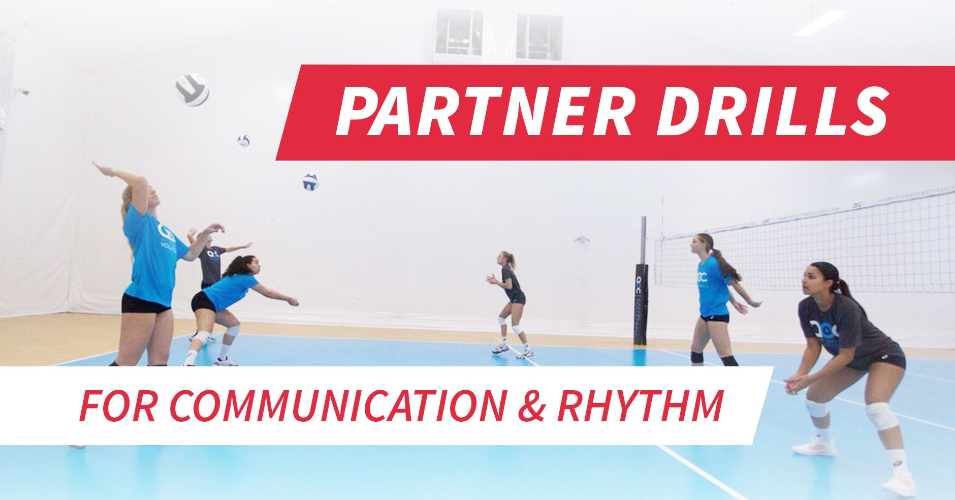 Partner Drills To Work On Communication And Rhythm Volleyball Drills For Beginners Volleyball Drills Coaching Volleyball