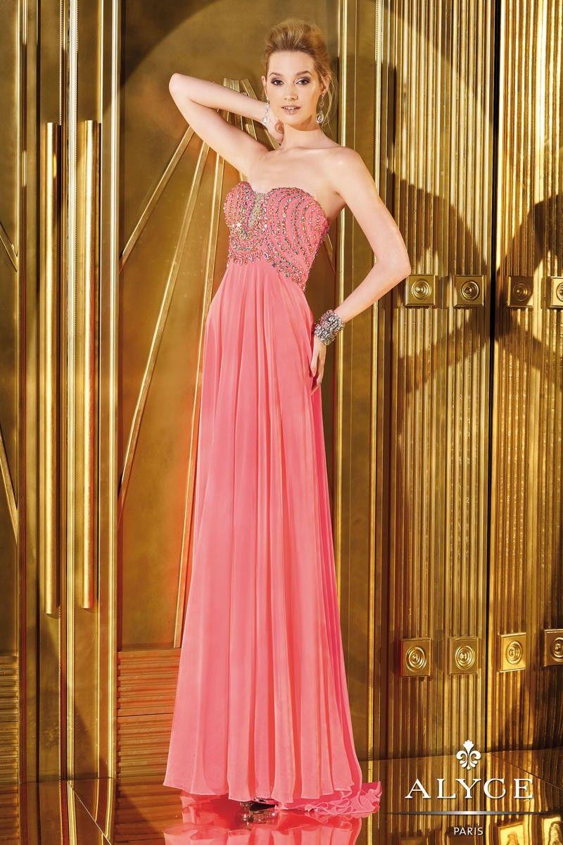 Alyce Prom 6275 Prom Dress Alyce Long Strapless Sequins Beautiful Alyce Paris Prom Dresses Prom Dresses Sleeveless Alyce Prom Dress [ 1200 x 800 Pixel ]
