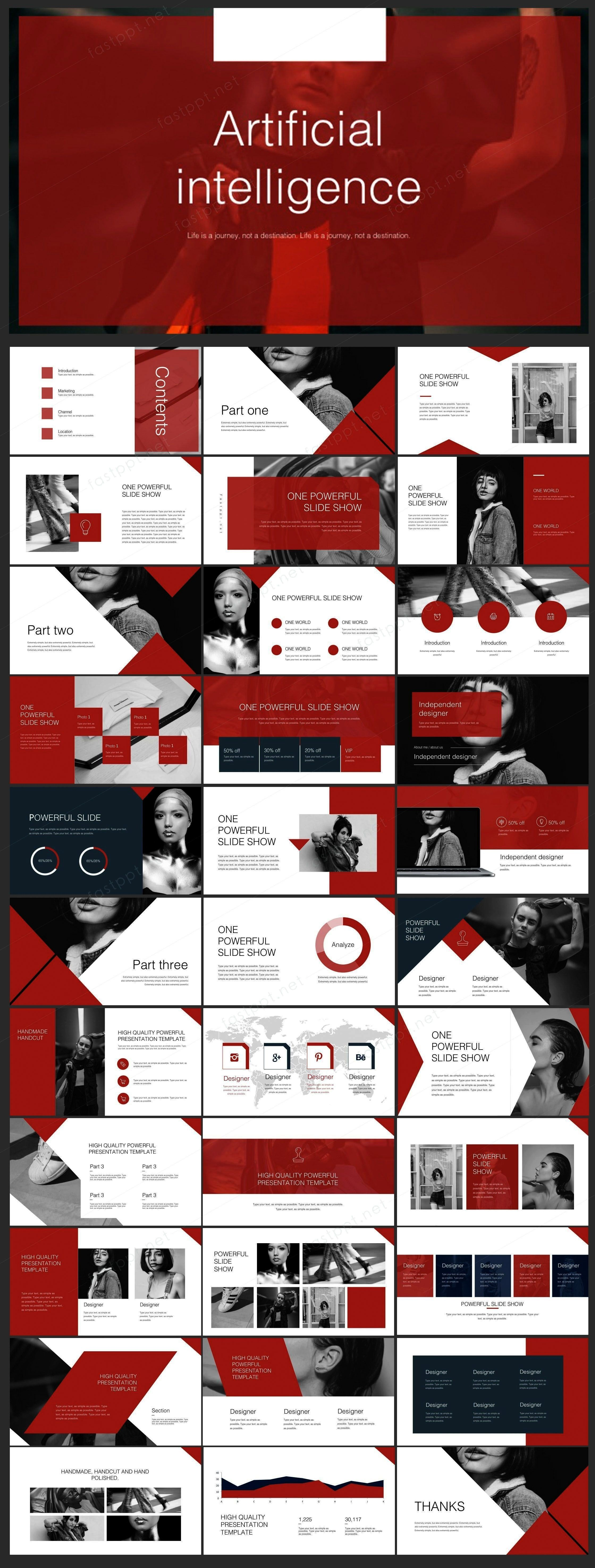 Company Report PowerPoint  Original and high quality PowerPoint Templates download  Red Creative Company Report PowerPoint  Original and high quality PowerPoint Templates...