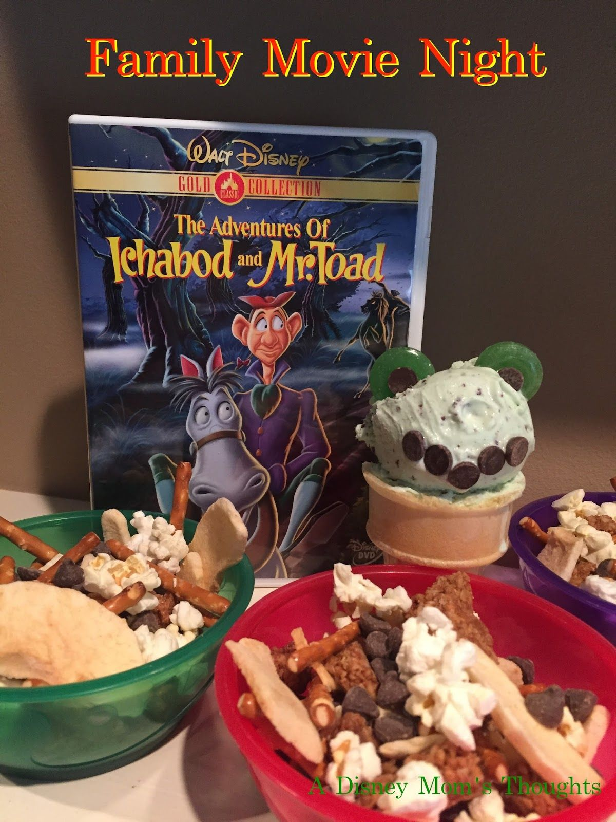 The Adventures of Ichabod and Mr. Toad Family Movie Night