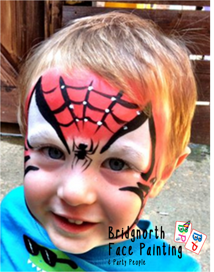 Arm painting spiderman arm face painting body art photo by bridgnorth face painting party people gallery baditri Images