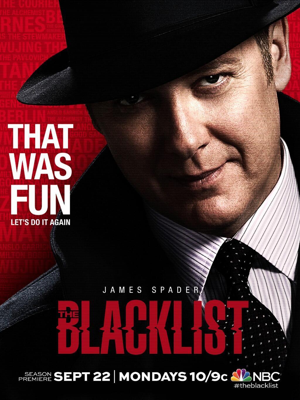 He S Coming Theblacklist In 2019 The Blacklist James Spader