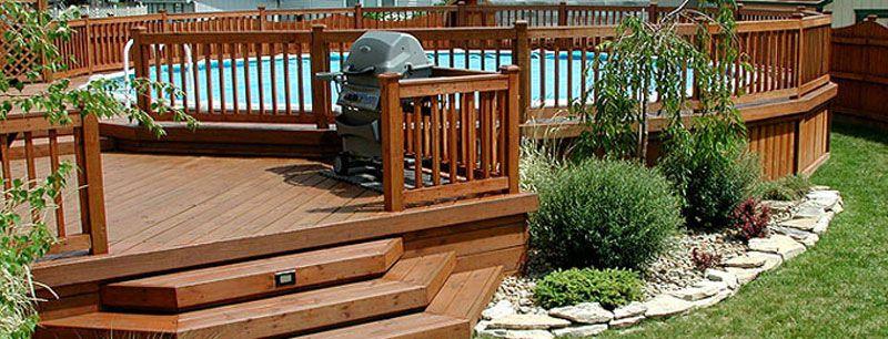 gardes corps terrasses bois Idées pour la maison Pinterest