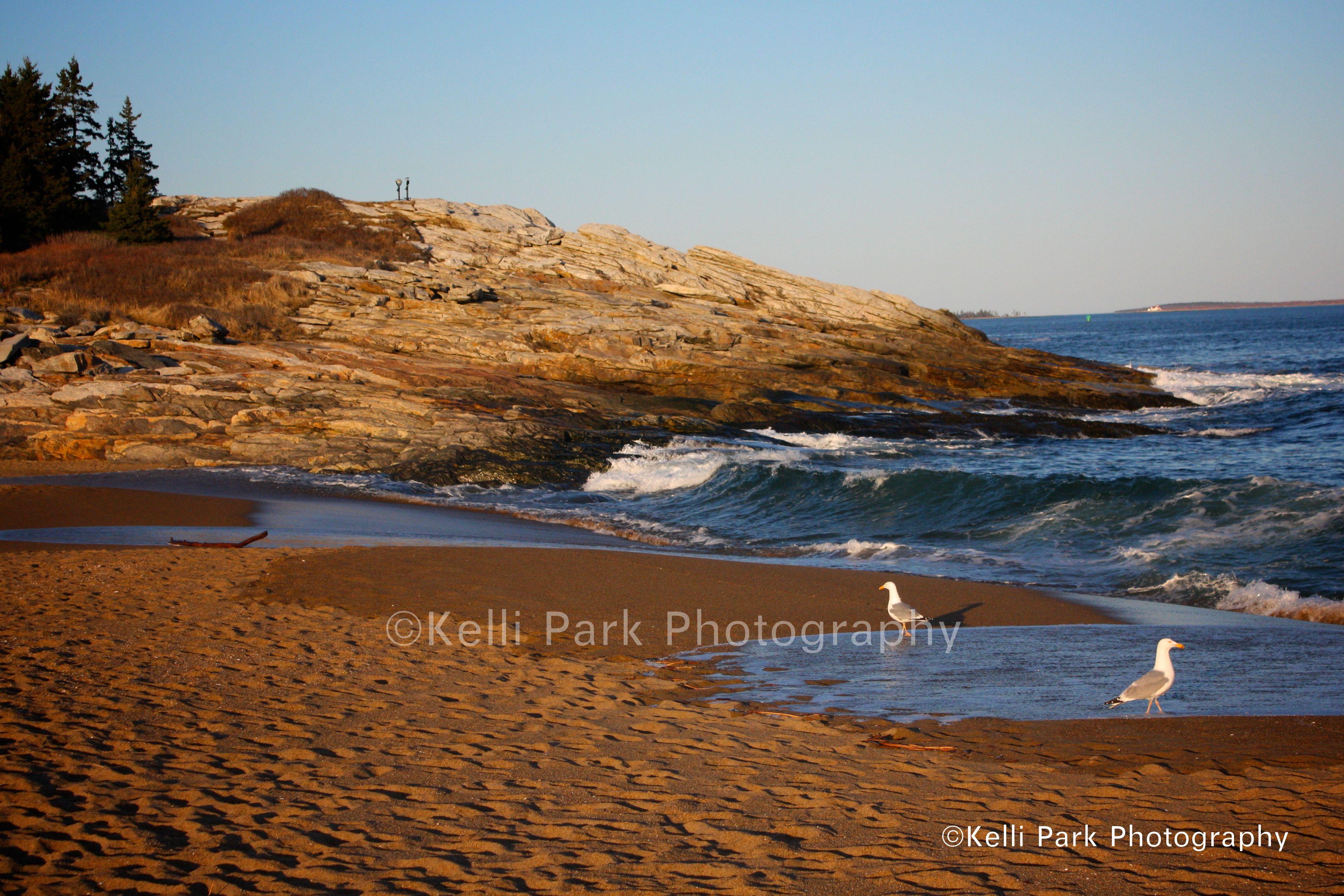 Maine State Parks >> Lamoine Beach State Park Maine Reid State Park Reid Beach Maine