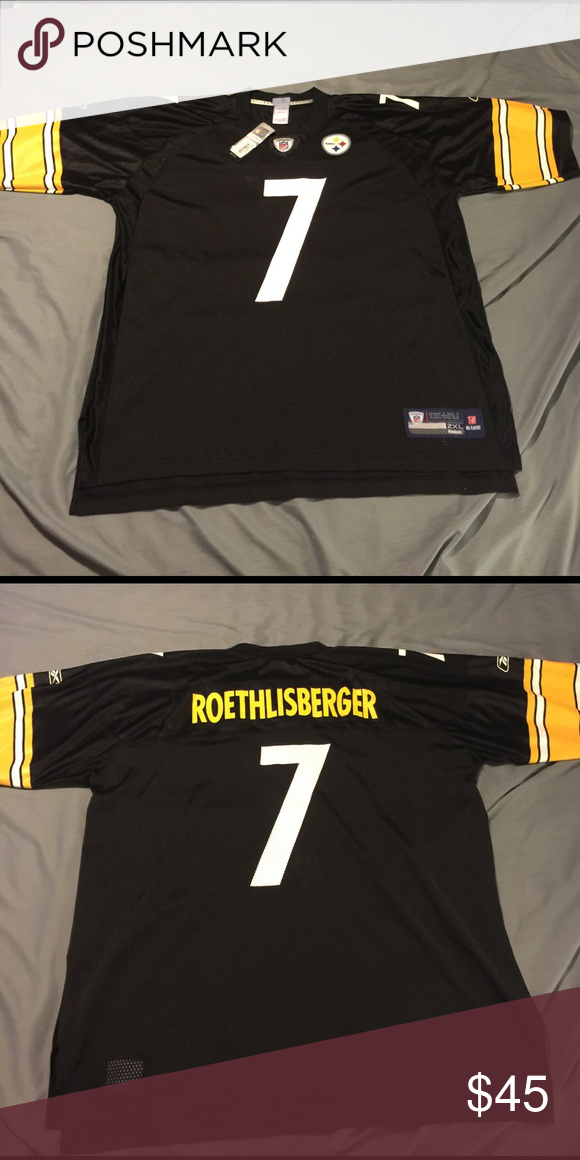 f1349d94724 Ben Roethlisberger NFL Jersey Authentic NFL jersey! Never worn ...