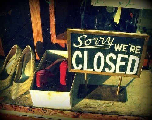 Semana Santa, showroom cerrado!