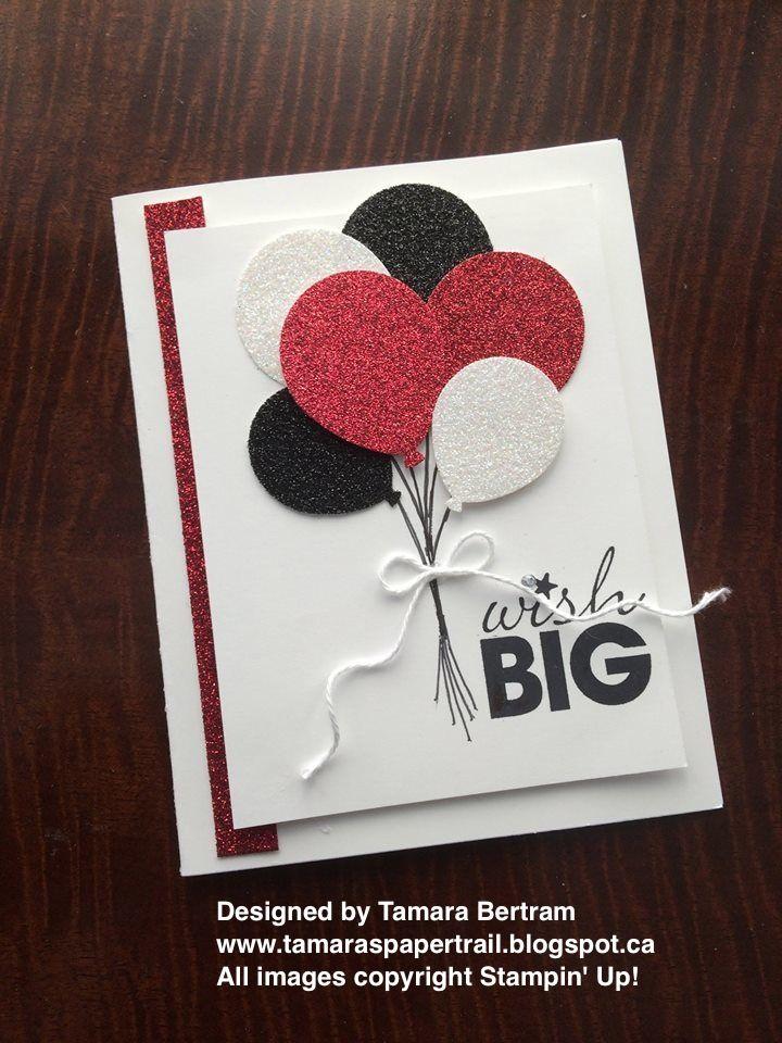 tamara's paper trail  handmade birthday cards cards