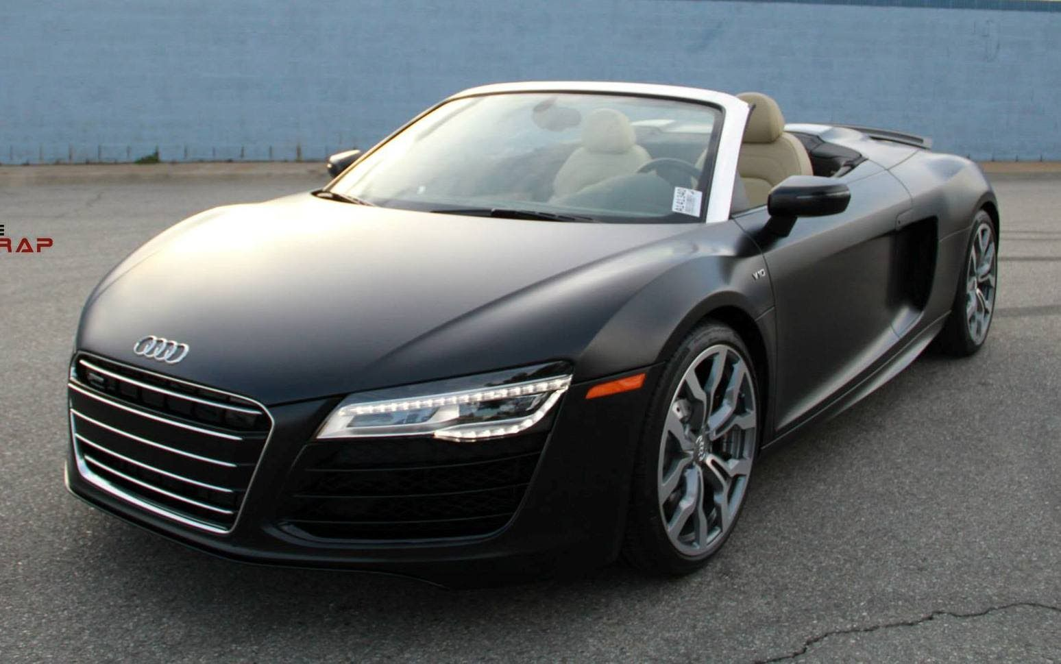 2015 audi r8 spyder by impressive wrap audi pinterest audi r8 audi and dream cars. Black Bedroom Furniture Sets. Home Design Ideas