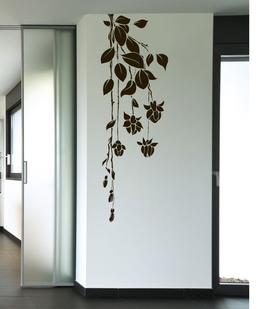 Flower Wall Painting Art Simple