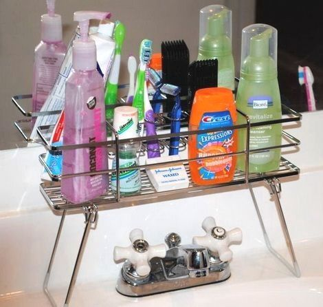 Looking for better ways to organize your bathroom? Getting that