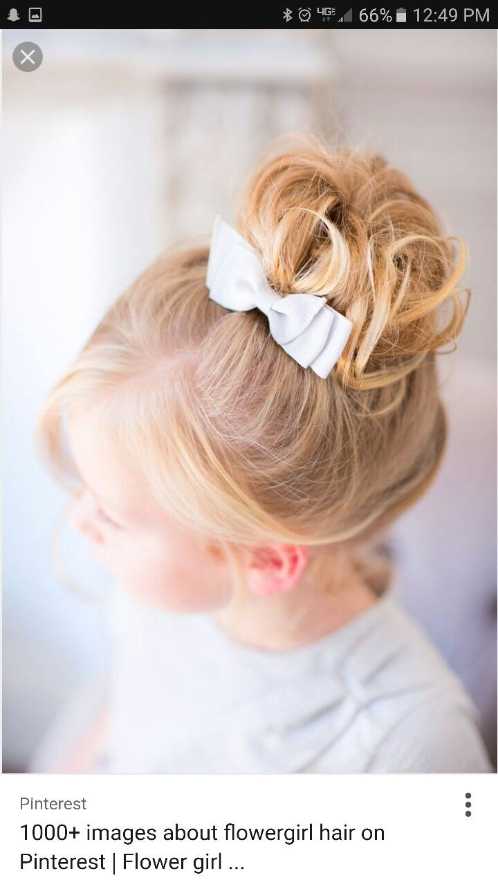 Pin By Shea Peavy On Kids Fancy Hair Flower Girl Hairstyles Little Girl Hairstyles Wedding Hairstyles For Girls