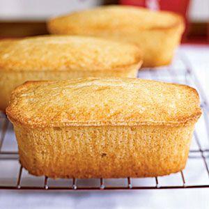 Vanilla Buttermilk Pound Cakes Recipe Buttermilk Recipes Pound Cake Recipes Cake Recipes