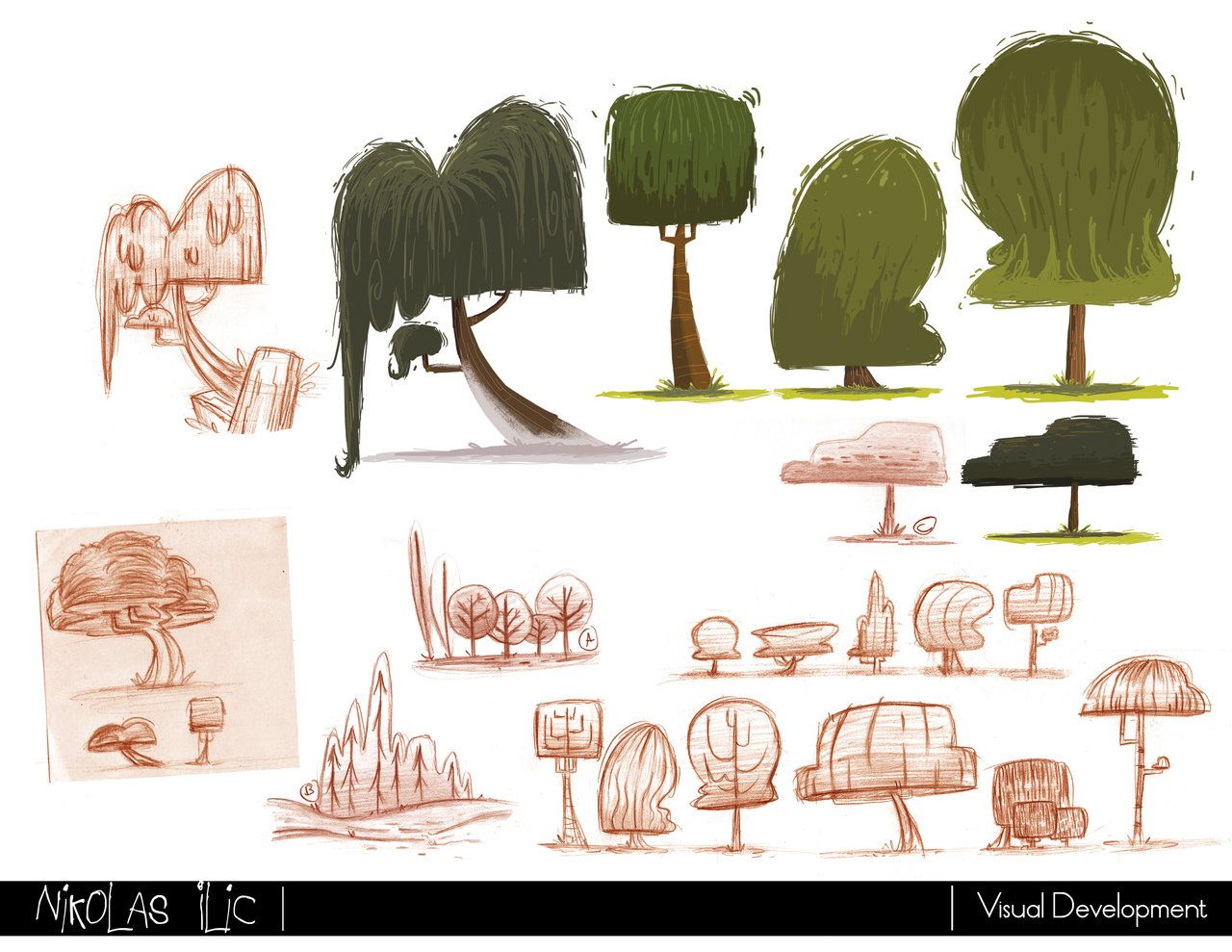 Character Design Visual Development : Nikolas ilic designer visual development artist