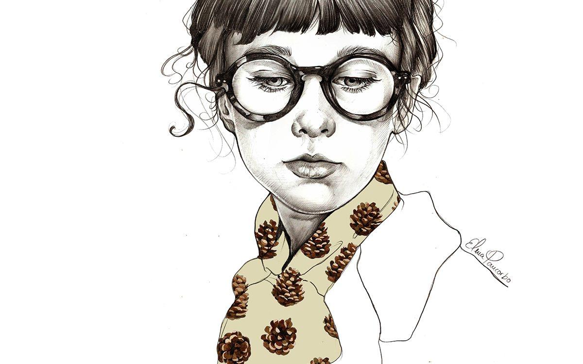 Las ilustraciones femeninas de Elena Pancorbo