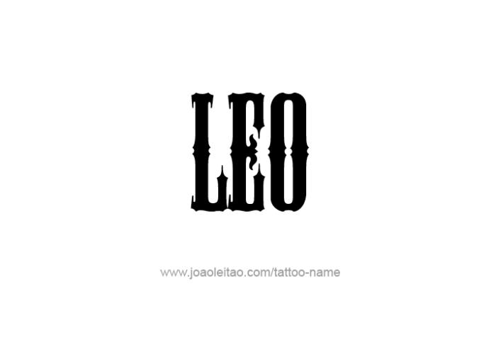 Leo Name Tattoo Designs Name Tattoo Name Tattoo Designs Name Tattoos