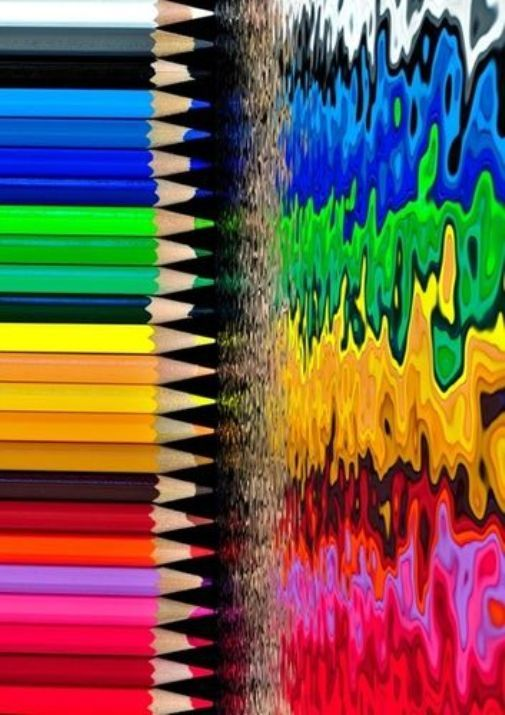 Lots Of Color Rainbow Colors Rainbow Abstract Color Vibe