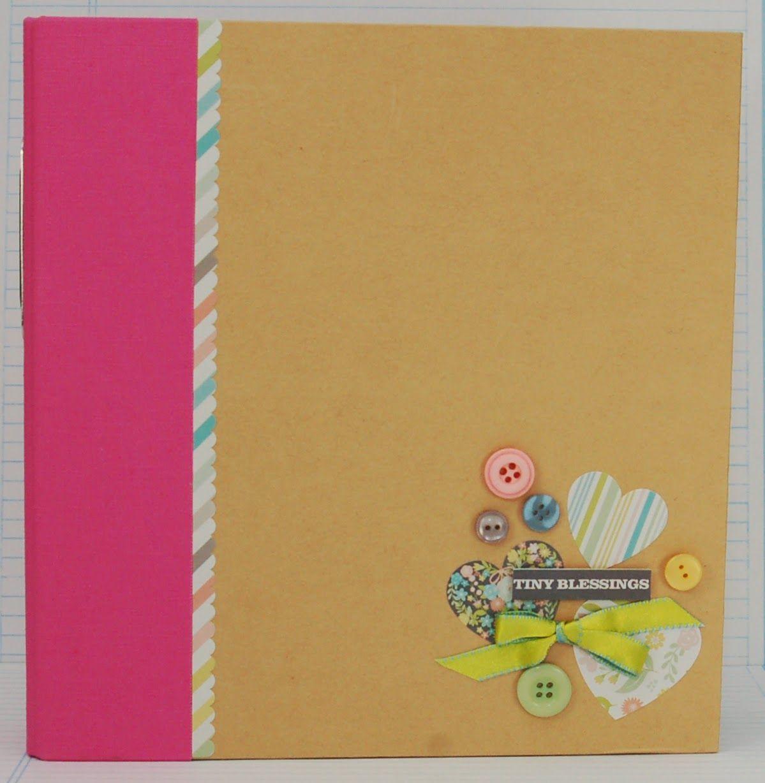 How to make scrapbook binder - Hello Baby Sn P Binder By Jessica Barnett Scrapbook Com Use