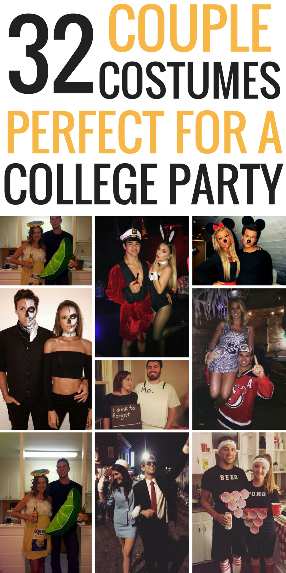 The Best Couple Costume Ideas I Have Seen!! Especially Good For College  Halloween Costumes And Couple Halloween Costumes