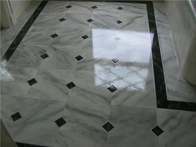 Bathroom Floor Tile Patterns | Bathroom Flooring Ideas: Black And White  Marble Floor For Bathroom