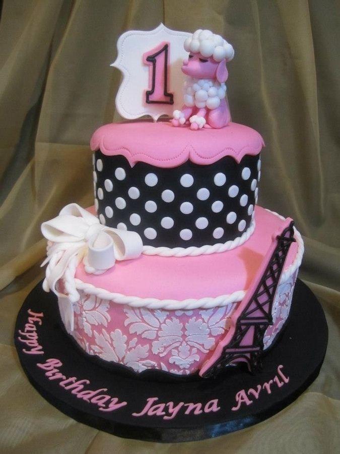Paris Poodle Cake Paris Party Pinterest Poodle Cake And - Birthday cake paris