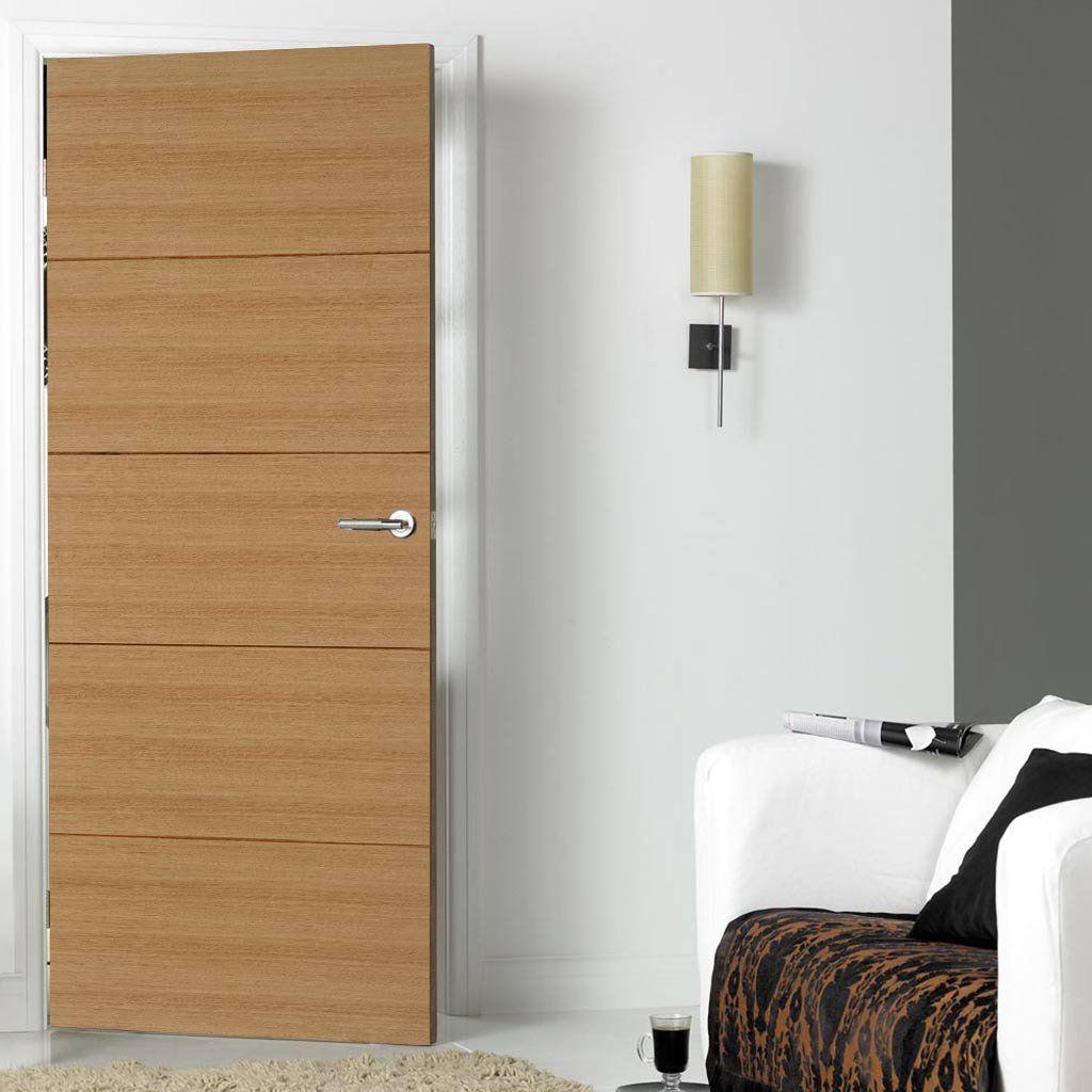 Orta Oak Veneer Fire Door Is Pre Finished And 1 2 Hour Fire Rated Flushfiredoor Oakfiredoor Internalfiredoor Fire Doors Internal Doors Doors