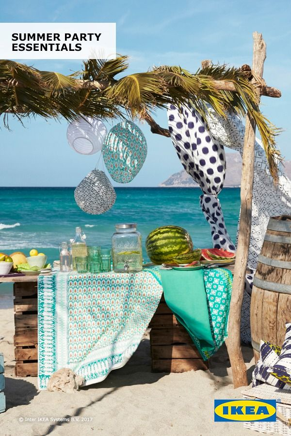 Light Up Any Summer Party With Ikea Solvinden Led Solar Powered