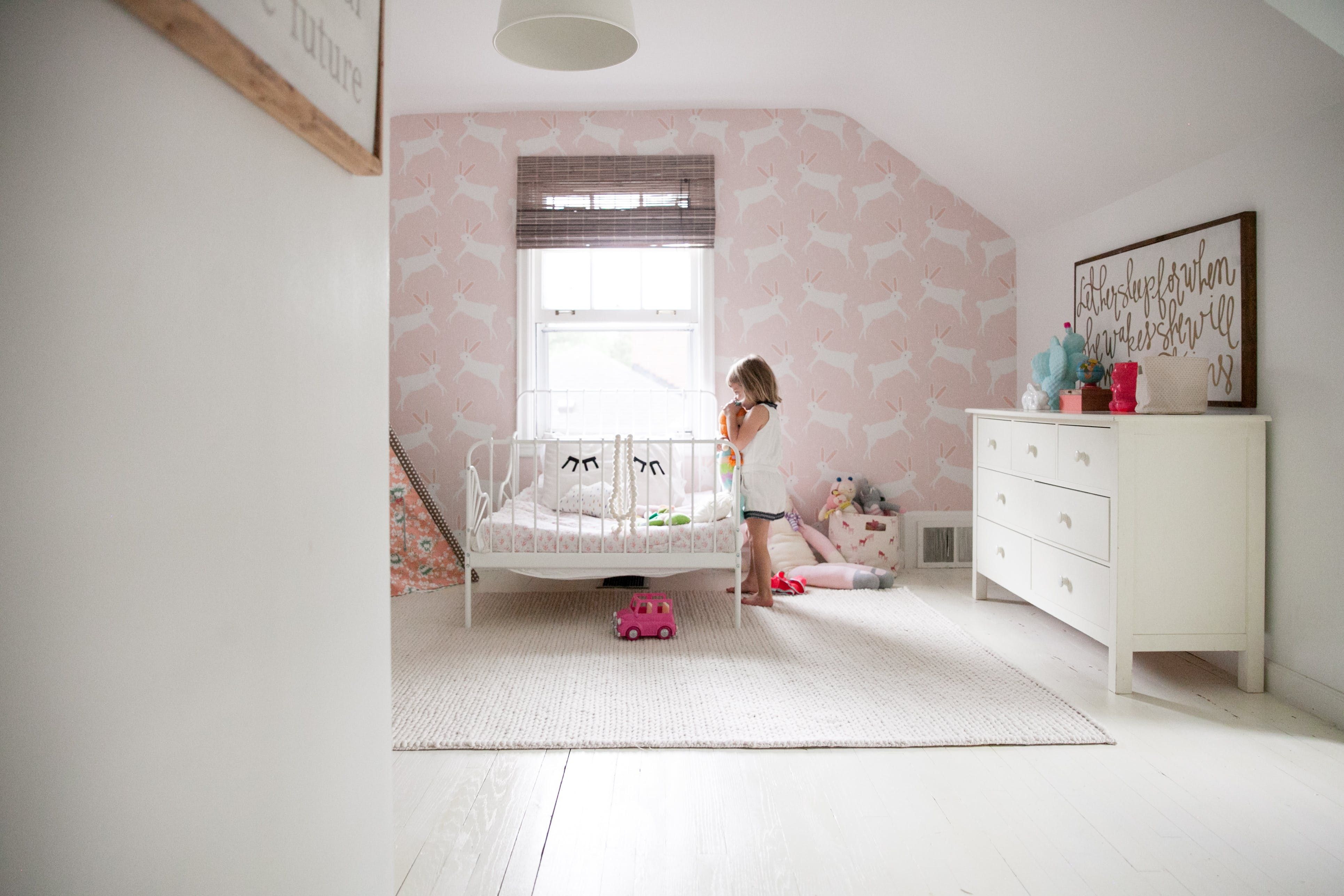 Anissa and Brian's youngest daughter, in her adorable room.