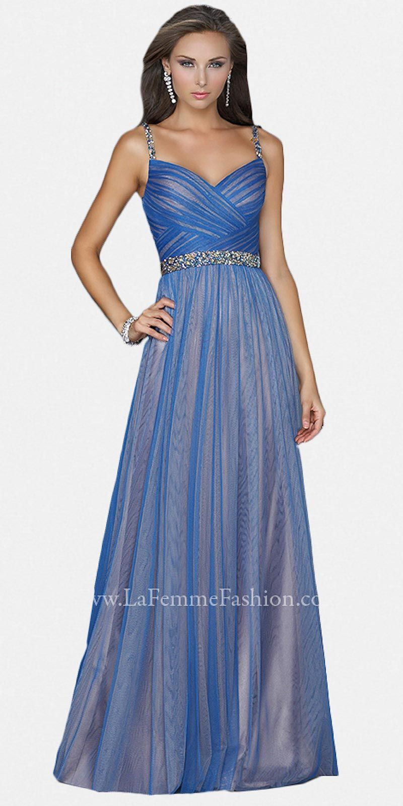 Sapphire nude prom dresses by la femme at edressme prom
