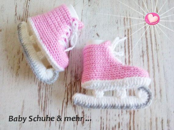 Baby Schlittschuhe Ice Skates Kufen Eishockey Von Babyshoeandmore