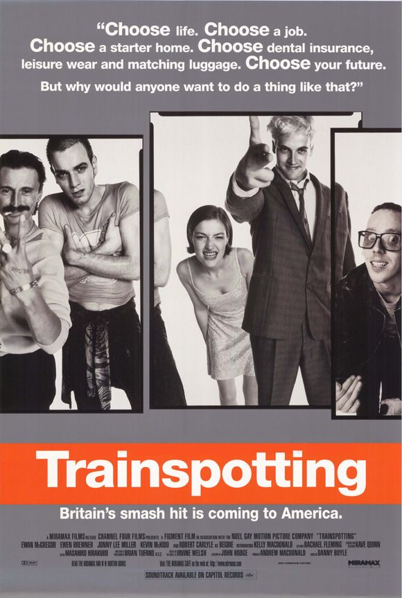 Favorite Scenes The Trainspotting Sean Connery Conversation Trainspotting Trainspotting Poster Good Movies