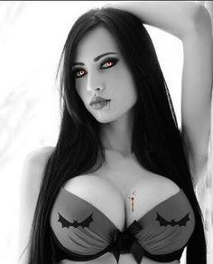 black model naked
