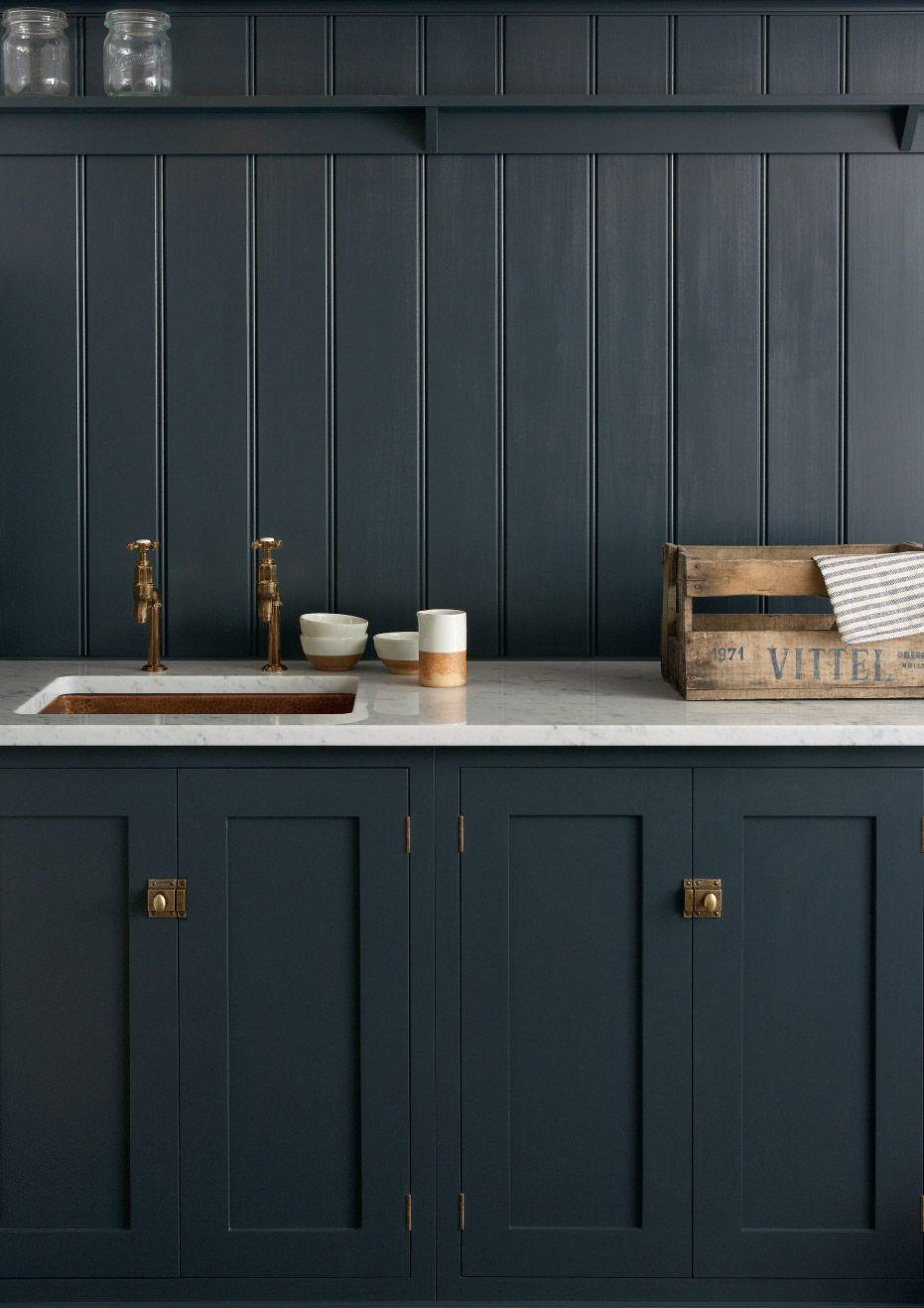grey interior cladding wooden kitchen kitchen design ideas traditional kitchen scandinavian. Black Bedroom Furniture Sets. Home Design Ideas